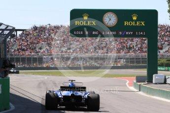 World © Octane Photographic Ltd. Formula 1 - Canadian Grand Prix - Saturday - Practice 3. Marcus Ericsson – Sauber F1 Team C36. Circuit Gilles Villeneuve, Montreal, Canada. Saturday 10th June 2017. Digital Ref: 1853LB1D5964