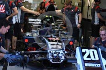 World © Octane Photographic Ltd. Formula 1 - Canadian Grand Prix - Saturday - Practice 3. Kevin Magnussen - Haas F1 Team VF-17. Circuit Gilles Villeneuve, Montreal, Canada. Saturday 10th June 2017. Digital Ref: 1853LB2D2748
