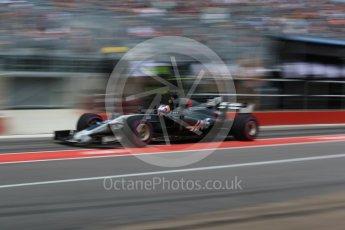 World © Octane Photographic Ltd. Formula 1 - Canadian Grand Prix - Saturday - Practice 3. Romain Grosjean - Haas F1 Team VF-17. Circuit Gilles Villeneuve, Montreal, Canada. Saturday 10th June 2017. Digital Ref: 1853LB2D2870