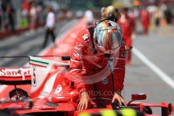 World © Octane Photographic Ltd. Formula 1 - Canadian Grand Prix - Saturday - Qualifying. Sebastian Vettel - Scuderia Ferrari SF70H. Circuit Gilles Villeneuve, Montreal, Canada. Saturday 10th June 2017. Digital Ref: 1854LB1D6849