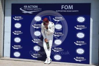 World © Octane Photographic Ltd. Formula 1 - Canadian Grand Prix - Saturday - Qualifying. Lewis Hamilton - Mercedes AMG Petronas F1 W08 EQ Energy+. Circuit Gilles Villeneuve, Montreal, Canada. Saturday 10th June 2017. Digital Ref: 1854LB2D3184
