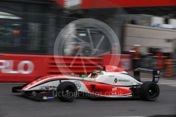 World © Octane Photographic Ltd. Formula 1 - Monaco Formula Renault Eurocup Practice. Frank Bird – Fortec Motorsports. Monaco, Monte Carlo. Thursday 25th May 2017. Digital Ref: