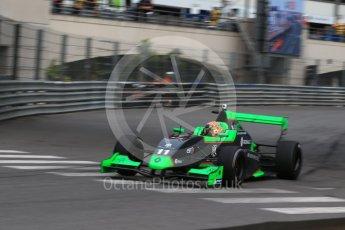 World © Octane Photographic Ltd. Formula 1 - Monaco Formula Renault Eurocup Practice. Sacha Fenestraz - Josef Kaufmann Racing. Monaco, Monte Carlo. Thursday 25th May 2017. Digital Ref: