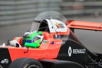World © Octane Photographic Ltd. Formula 1 - Monaco Formula Renault Eurocup Practice. Thomas Maxwell – Tech 1 Racing. Monaco, Monte Carlo. Thursday 25th May 2017. Digital Ref: