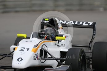 World © Octane Photographic Ltd. Formula 1 - Monaco Formula Renault Eurocup Practice. Sun Yueyang – JD Motorsport. Monaco, Monte Carlo. Thursday 25th May 2017. Digital Ref: