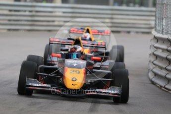 World © Octane Photographic Ltd. Formula 1 - Monaco Formula Renault Eurocup Practice. Richard Verschoor – MP Motorsport and Dan Ticktum – Arden. Monaco, Monte Carlo. Thursday 25th May 2017. Digital Ref: