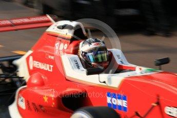 World © Octane Photographic Ltd. Formula 1 - Monaco Formula Renault Eurocup Qualifying. Ye Yifei - Josef Kaufmann Racing. Monaco, Monte Carlo. Friday 26th May 2017. Digital Ref:
