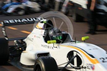 World © Octane Photographic Ltd. Formula 1 - Monaco Formula Renault Eurocup Qualifying. Sun Yueyang – JD Motorsport. Monaco, Monte Carlo. Friday 26th May 2017. Digital Ref: