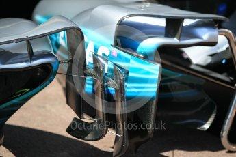 World © Octane Photographic Ltd. Formula 1 - Monaco Grand Prix Setup. Mercedes AMG Petronas F1 W08 EQ Energy+. Monaco, Monte Carlo. Wednesday 24th May 2017. Digital Ref: