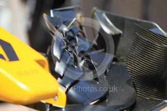 World © Octane Photographic Ltd. Formula 1 - Monaco Grand Prix Setup. Renault Sport F1 Team R.S.17. Monaco, Monte Carlo. Wednesday 24th May 2017. Digital Ref:
