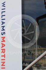 World © Octane Photographic Ltd. Formula 1 - Monaco Grand Prix Setup. Williams Martini Racing with Monaco reflection. Monaco, Monte Carlo. Wednesday 24th May 2017. Digital Ref:
