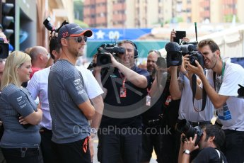 World © Octane Photographic Ltd. Formula 1 - Monaco Grand Prix Setup. Jenson Button - McLaren Honda MCL32. Monaco, Monte Carlo. Wednesday 24th May 2017. Digital Ref: