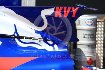 World © Octane Photographic Ltd. Formula 1 - Monaco Grand Prix Setup. Daniil Kvyat - Scuderia Toro Rosso STR12. Monaco, Monte Carlo. Wednesday 24th May 2017. Digital Ref: