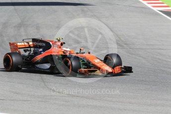 World © Octane Photographic Ltd. Formula 1 - Spanish Grand Prix Practice 1. Stoffel Vandoorne - McLaren Honda MCL32. Circuit de Barcelona - Catalunya, Spain. Friday 12th May 2017. Digital Ref: 1810CB1L7725