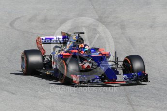 World © Octane Photographic Ltd. Formula 1 - Spanish Grand Prix Practice 1. Daniil Kvyat - Scuderia Toro Rosso STR12. Circuit de Barcelona - Catalunya, Spain. Friday 12th May 2017. Digital Ref: 1810CB1L7799