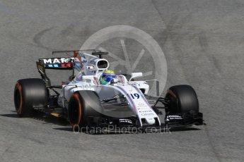 World © Octane Photographic Ltd. Formula 1 - Spanish Grand Prix Practice 1. Felipe Massa - Williams Martini Racing FW40. Circuit de Barcelona - Catalunya, Spain. Friday 12th May 2017. Digital Ref: 1810CB1L7882