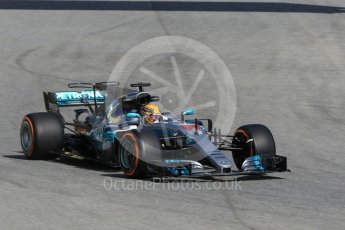 World © Octane Photographic Ltd. Formula 1 - Spanish Grand Prix Practice 1. Lewis Hamilton - Mercedes AMG Petronas F1 W08 EQ Energy+. Circuit de Barcelona - Catalunya, Spain. Friday 12th May 2017. Digital Ref: 1810CB1L7964