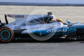 World © Octane Photographic Ltd. Formula 1 - Spanish Grand Prix Practice 1. Lewis Hamilton - Mercedes AMG Petronas F1 W08 EQ Energy+. Circuit de Barcelona - Catalunya, Spain. Friday 12th May 2017. Digital Ref: 1810CB1L7979