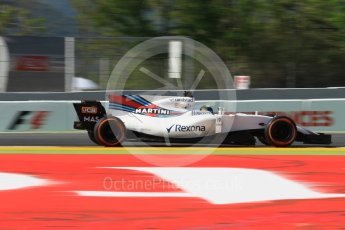 World © Octane Photographic Ltd. Formula 1 - Spanish Grand Prix - Practice 1. Felipe Massa - Williams Martini Racing FW40. Circuit de Barcelona - Catalunya. Friday 12th May 2017. Digital Ref: 1810CB1L8129