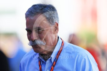 World © Octane Photographic Ltd. Formula 1 - Spanish Grand Prix - Practice 1. Chase Cary - Executive chairman of the Formula One Group. Circuit de Barcelona - Catalunya. Friday 12th May 2017. Digital Ref: 1810CB7D3897