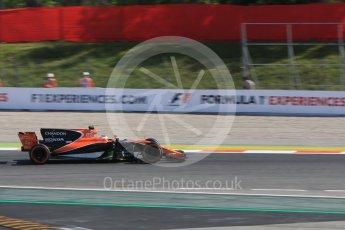 World © Octane Photographic Ltd. Formula 1 - Spanish Grand Prix - Practice 1. Lance Stroll - Williams Martini Racing FW40. Circuit de Barcelona - Catalunya. Friday 12th May 2017. Digital Ref: 1810CB7D3943