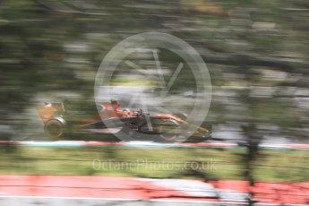World © Octane Photographic Ltd. Formula 1 - Spanish Grand Prix - Practice 1. Stoffel Vandoorne - McLaren Honda MCL32. Circuit de Barcelona - Catalunya. Friday 12th May 2017. Digital Ref: 1810CB7D3972