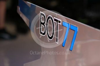 World © Octane Photographic Ltd. Formula 1 - Spanish Grand Prix Practice 1. Valtteri Bottas - Mercedes AMG Petronas F1 W08 EQ Energy+. Circuit de Barcelona - Catalunya, Spain. Friday 12th May 2017. Digital Ref: 1810CB7D4283