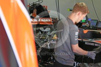 World © Octane Photographic Ltd. Formula 1 - Spanish Grand Prix Practice 1. McLaren Honda MCL32. Circuit de Barcelona - Catalunya, Spain. Friday 12th May 2017. Digital Ref: 1810CB7D4377