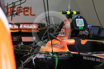 World © Octane Photographic Ltd. Formula 1 - Spanish Grand Prix Practice 1. McLaren Honda MCL32. Circuit de Barcelona - Catalunya, Spain. Friday 12th May 2017. Digital Ref: 1810CB7D4382