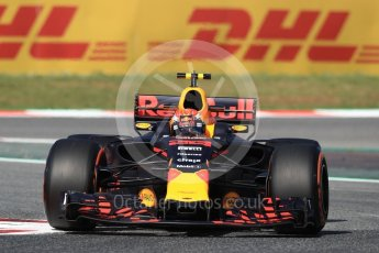 World © Octane Photographic Ltd. Formula 1 - Spanish Grand Prix - Practice 1. Max Verstappen - Red Bull Racing RB13. Circuit de Barcelona - Catalunya. Friday 12th May 2017. Digital Ref: 1810LB1D9024