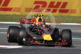 World © Octane Photographic Ltd. Formula 1 - Spanish Grand Prix - Practice 1. Daniel Ricciardo - Red Bull Racing RB13. Circuit de Barcelona - Catalunya. Friday 12th May 2017. Digital Ref: