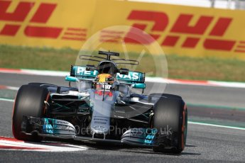 World © Octane Photographic Ltd. Formula 1 - Spanish Grand Prix - Practice 1. Lewis Hamilton - Mercedes AMG Petronas F1 W08 EQ Energy+. Circuit de Barcelona - Catalunya. Friday 12th May 2017. Digital Ref: 1810LB1D9121