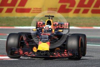 World © Octane Photographic Ltd. Formula 1 - Spanish Grand Prix Practice 1. Daniel Ricciardo - Red Bull Racing RB13. Circuit de Barcelona - Catalunya, Spain. Friday 12th May 2017. Digital Ref: 1810LB1D9240