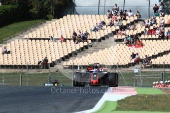 World © Octane Photographic Ltd. Formula 1 - Spanish Grand Prix Practice 1. Romain Grosjean - Haas F1 Team VF-17. Circuit de Barcelona - Catalunya, Spain. Friday 12th May 2017. Digital Ref: 1810LB1D9493