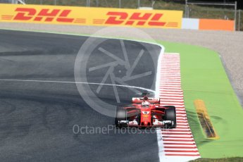World © Octane Photographic Ltd. Formula 1 - Spanish Grand Prix Practice 1. Sebastian Vettel - Scuderia Ferrari SF70H. Circuit de Barcelona - Catalunya, Spain. Friday 12th May 2017. Digital Ref: 1810LB1D9594