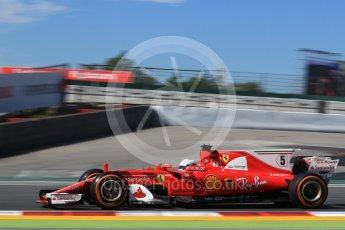 World © Octane Photographic Ltd. Formula 1 - Spanish Grand Prix Practice 1. Sebastian Vettel - Scuderia Ferrari SF70H. Circuit de Barcelona - Catalunya, Spain. Friday 12th May 2017. Digital Ref: 1810LB2D7445