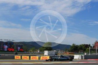World © Octane Photographic Ltd. Formula 1 - Spanish Grand Prix - Practice 1. Lewis Hamilton - Mercedes AMG Petronas F1 W08 EQ Energy+. Circuit de Barcelona - Catalunya. Friday 12th May 2017. Digital Ref: 1810LB2D7544