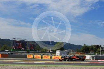 World © Octane Photographic Ltd. Formula 1 - Spanish Grand Prix - Practice 1. Stoffel Vandoorne - McLaren Honda MCL32. Circuit de Barcelona - Catalunya. Friday 12th May 2017. Digital Ref: 1810LB2D7568