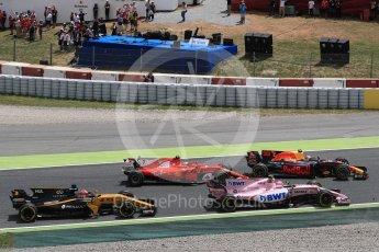 World © Octane Photographic Ltd. Formula 1 - Spanish Grand Prix Race. First lap drama. Circuit de Barcelona - Catalunya, Spain. Sunday 14th May 2017. Digital Ref:1825LB1D3867