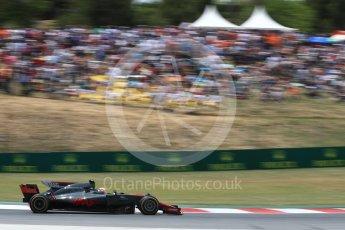 World © Octane Photographic Ltd. Formula 1 - Spanish Grand Prix Race. Kevin Magnussen - Haas F1 Team VF-17. Circuit de Barcelona - Catalunya, Spain. Sunday 14th May 2017. Digital Ref:1825LB1D4299
