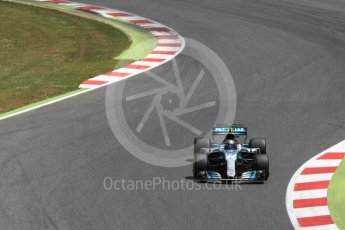 World © Octane Photographic Ltd. Formula 1 - Spanish Grand Prix Race. Valtteri Bottas - Mercedes AMG Petronas F1 W08 EQ Energy+. Circuit de Barcelona - Catalunya, Spain. Sunday 14th May 2017. Digital Ref:1825LB2D8974