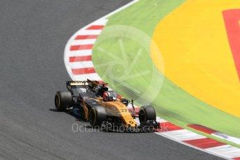 World © Octane Photographic Ltd. Formula 1 - Spanish Grand Prix Race. Nico Hulkenberg - Renault Sport F1 Team R.S.17. Circuit de Barcelona - Catalunya, Spain. Sunday 14th May 2017. Digital Ref:1825LB2D9004