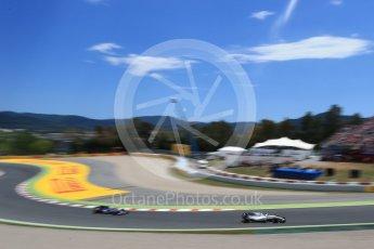 World © Octane Photographic Ltd. Formula 1 - Spanish Grand Prix Race. Lance Stroll - Williams Martini Racing FW40. Circuit de Barcelona - Catalunya, Spain. Sunday 14th May 2017. Digital Ref:1825LB2D9103