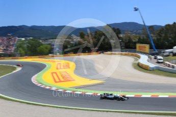 World © Octane Photographic Ltd. Formula 1 - Spanish Grand Prix Race. Valtteri Bottas - Mercedes AMG Petronas F1 W08 EQ Energy+ and Daniel Ricciardo - Red Bull Racing RB13. Circuit de Barcelona - Catalunya, Spain. Sunday 14th May 2017. Digital Ref:1825LB2D9153