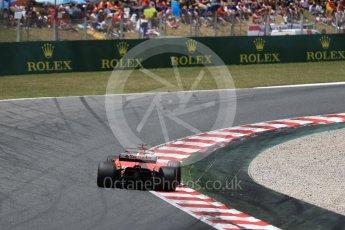 World © Octane Photographic Ltd. Formula 1 - Spanish Grand Prix Race. Sebastian Vettel - Scuderia Ferrari SF70H. Circuit de Barcelona - Catalunya, Spain. Sunday 14th May 2017. Digital Ref:1825LB2D9227