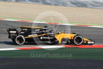 World © Octane Photographic Ltd. Formula 1 winter test 1, Renault Sport F1 Team R.S.17 – Nico Hulkenberg, Circuit de Barcelona-Catalunya. Monday 27th February 2017. Digital Ref :1780CB1D2564
