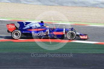 World © Octane Photographic Ltd. Formula 1 winter test 1, Scuderia Toro Rosso STR12 – Carlos Sainz,Circuit de Barcelona-Catalunya. Monday 27th February 2017. Digital Ref :1780CB1D2649