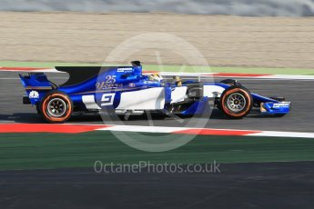 World © Octane Photographic Ltd.. Formula 1 winter test 1, Sauber F1 Team C36 – Marcus Ericsson ,Circuit de Barcelona-Catalunya. Monday 27th February 2017. Digital Ref :1780CB1D2666