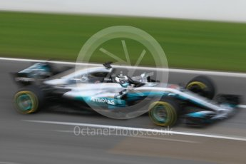 World © Octane Photographic Ltd. Formula 1 - Winter Test 1. Valtteri Bottas - Mercedes AMG Petronas F1 W08 EQ Energy+. Circuit de Barcelona-Catalunya. Monday 27th February 2017. Digital Ref :1780CB1D2747