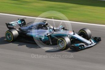 World © Octane Photographic Ltd. Formula 1 - Winter Test 1. Valtteri Bottas - Mercedes AMG Petronas F1 W08 EQ Energy+. Circuit de Barcelona-Catalunya. Monday 27th February 2017. Digital Ref :1780CB1D2753
